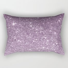 Stylish lavender lilac modern glitter gradient Rectangular Pillow