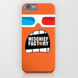 Mischief Factory iPhone Case