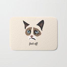 Angry Cat Bath Mat