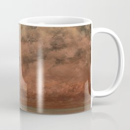 The Black Rocks at Trouville Gustave Courbet Painting Coffee Mug