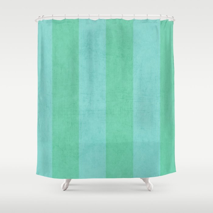 teal striped shower curtain. Vintage Mint And Teal Stripes Shower Curtain By Herart  Society6