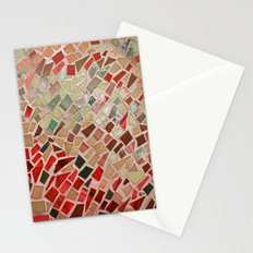 Razzle Red Mosaic Stationery Cards