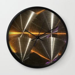 Moon Glow From Jupiter: Calistto's Reflection Wall Clock