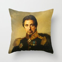 Al Pacino -replaceface Throw Pillow