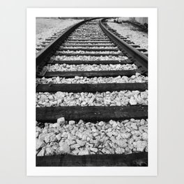 Destination Unknown Art Print