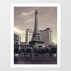 Paris, Vegas Art Print