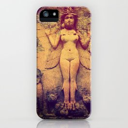Ishtar Babylonian Goddess of Fertility iPhone Case