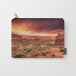 Arches at Sunset Carry-All Pouch
