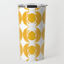 Golden Scarabs Travel Mug