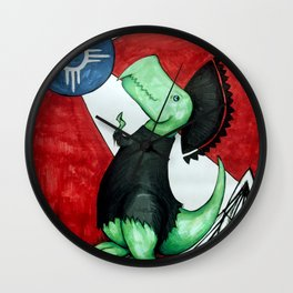 Tommy of the Plains Wall Clock