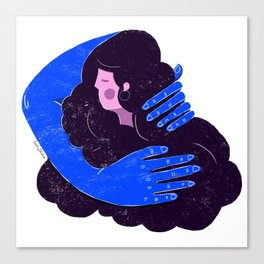 Warm love Canvas Print