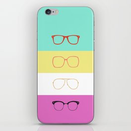 Sunglasses Untitled #2 iPhone Skin