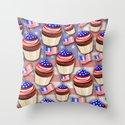 USA Flag Cupcakes Pattern by bluedarkatlem
