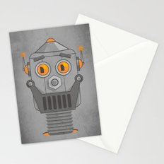 Love my robot Stationery Cards