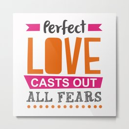 Perfect Love Metal Print