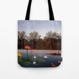 "Henri Rousseau ""The Flamingos"", 1907 Tote Bag"