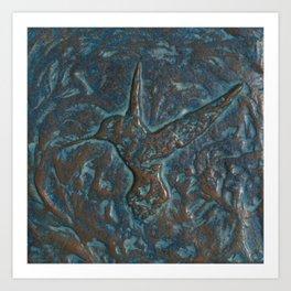 Hummingbird Art Art Print