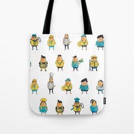 Wooferland: Wooferkers Pattern Tote Bag