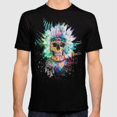 SKULL - WILD SPRIT X-LARGE Mens Fitted Tee Black
