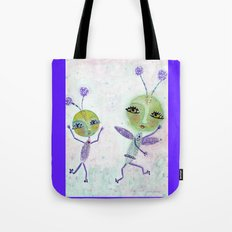 JitterBug Your Cares Away Tote Bag
