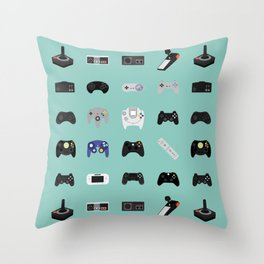 Console Evolution Throw Pillow