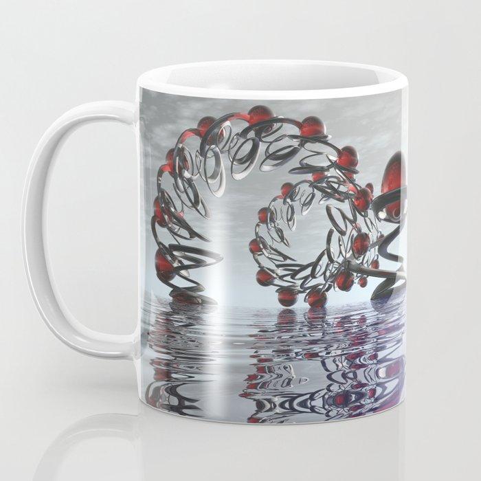 Surreal Christmas in the sky  Coffee Mug