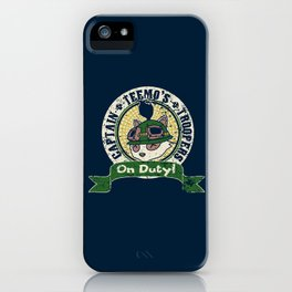 On Duty!! iPhone Case