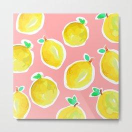 Lemon Crush 2 Metal Print