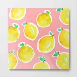 Lemon Crush 2 Metal Print