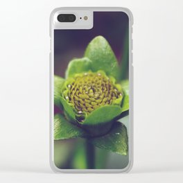 Plant life Clear iPhone Case