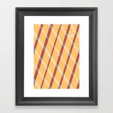 Pitter Pattern 1 Framed Art Print