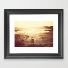 La Barra Sunset Framed Art Print