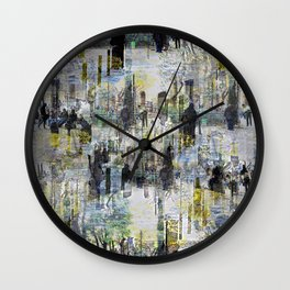 Lumps all the insults properly sorted over houses. Wall Clock