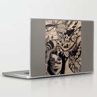 headdress Laptop & iPad Skins featuring Headdress by creative kids