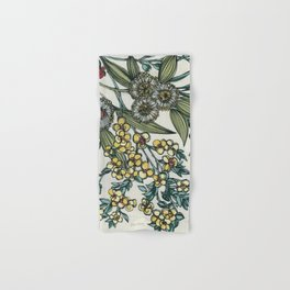 Australian Native Floral Hand & Bath Towel