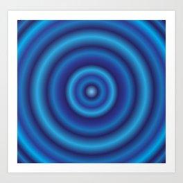 water circle Art Print