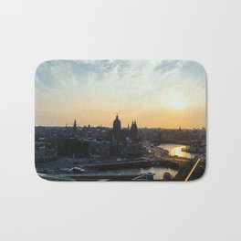 Amsterdam at Sunset Bath Mat