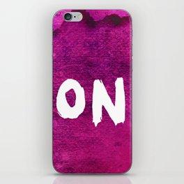 Don`t (Grunge Version) iPhone Skin