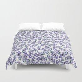 Lavender Floral Bunch Duvet Cover