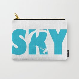 Skydiving Parachuting Carry-All Pouch