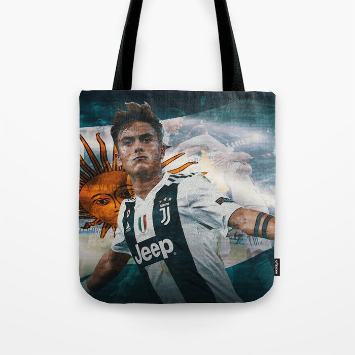 new products 6c8b7 eaa09 Paulo Dybala Tote Bag by dc95