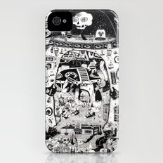 contacto real iPhone (4, 4s) Slim Case