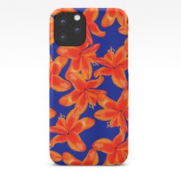 Lilium Lily in the Sun iPhone Case