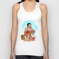 cleveland Tank Tops featuring Cleveland rider by Nicolaine