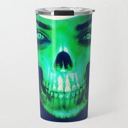 Skull Aglow Travel Mug
