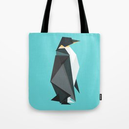 Fractal geometric emperor penguin Tote Bag