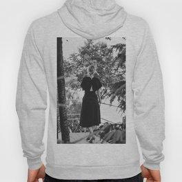 Woman in a Black Dress Hoody