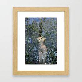 Green Reflex Framed Art Print