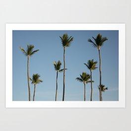 Palms Punta Cana Art Print