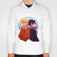 kakashi Hoodies featuring Parallel by Nowhere Little Girl